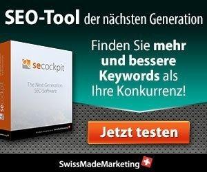 SECockpit - die Software für umfassende Online-Marktanalyse